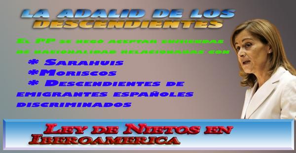 #NaciondespxleyNietosIberoam #Bisnietosemigrspn, #nietosdeemigrantesespañoles, #leyMemHistcaIberoamer,