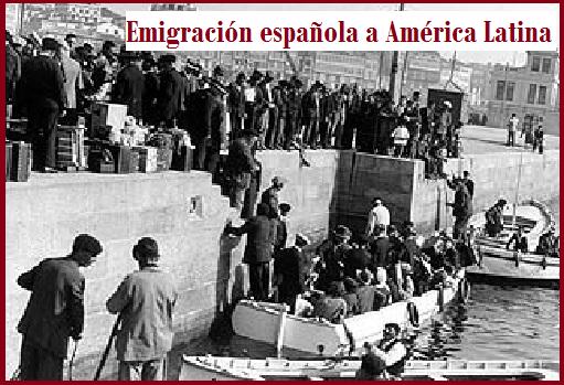 Emigración española a Américal Latina