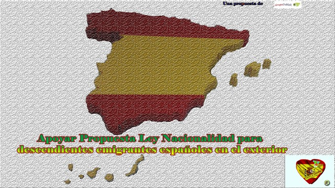 Nacionalidad descendientes emigrantes