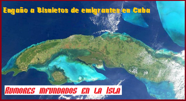 Bisnietos engañados en Cuba